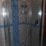 allestimento doccia